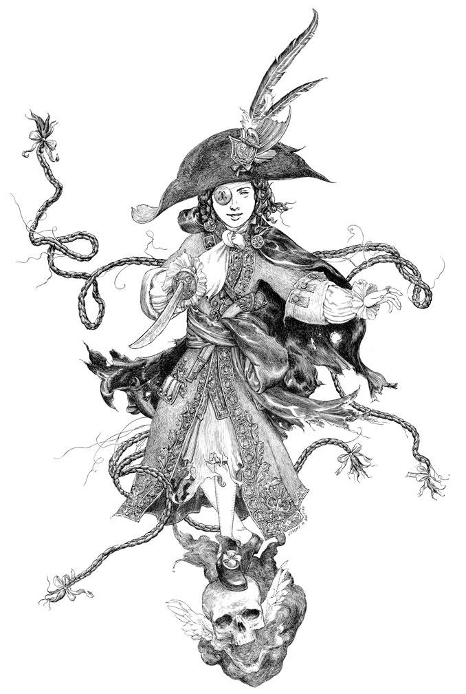 la-fille-maudite-du-capitaine-pirate-detail