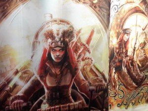 Exposition d'illustrations Steampunk d'Elodie Dumoulin