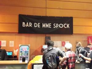 Le bar de Mme Spock